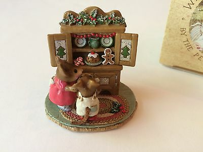 Wee Forest Folk M-241  CHRISTMAS CUPBOARD, Retired -  Mint