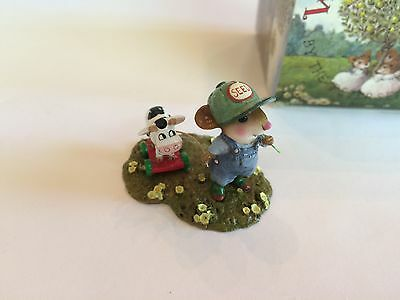Wee Forest Folk M-445 TIMOTHY & BELLE, Retired - MINT