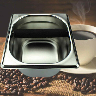 Tool Accessory Coffee Knock Box for Espress Coffee Maker Machine Stainless Steel