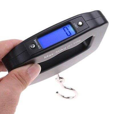 Portable 50kg/10g Digital LCD Electronic Luggage Hanging Weight Scale