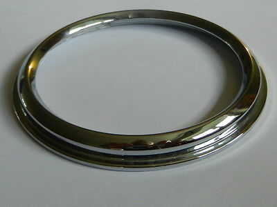 CHROME CHRONOMETRIC Speedometer Screw bezel  Flanged