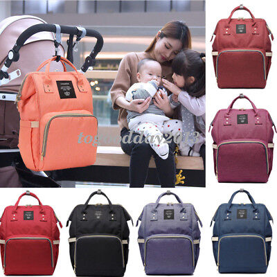 Fashion Multi-functional Baby Diaper Bag Nappy Backpack Maternity Large Capacity