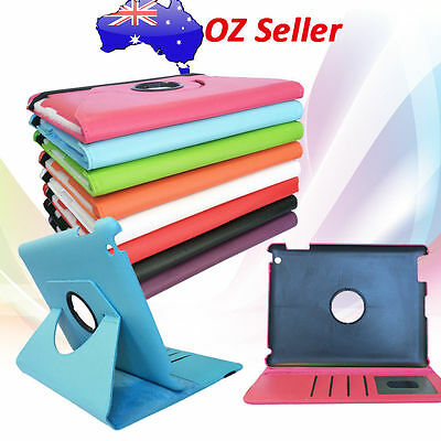 360° Rotate PU Leather Case Flip Card Cover Stand Apple Models Genuine AuSeller