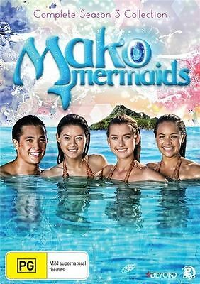 MAKO MERMAIDS : COMPLETE SEASON 3 - DVD - UK Compatible