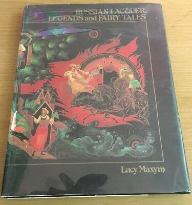 Russian Lacquer Boxes Legends And Fairy Tales Book