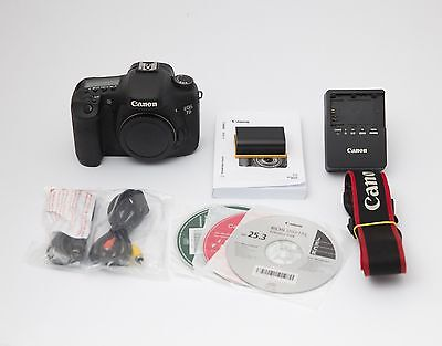 Canon 7D Digital Camera - Black (Body Only)