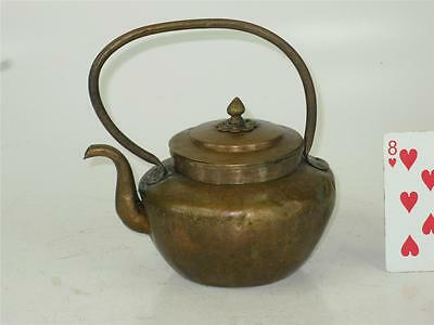 Antique Copper Hand Hammered Tea Water Pot / Kettle Chinese