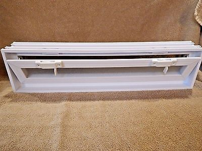 Glass Block Window Vent Double pane Insulated Glass 20 x 6 x 3