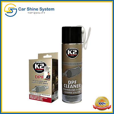 K2 DPF DIESEL Additive Concentrated Cleaner Regenerate Particulate Filter Kit