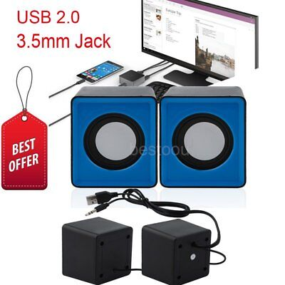 Mini Portable USB Audio Music Player Speaker for iPhone iPad MP3 Laptop PC DQ