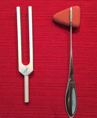 Tuning Fork And Taylor Percussion Hammer Reflex Set