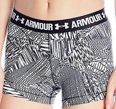 Womens Ua Under Armour Compression Shorts Xs New Nwt