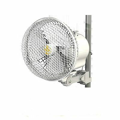 "Secret Jardin 6"" Monkey Fan, Clips On Grow Tent Poles 150Mm Hydroponics"