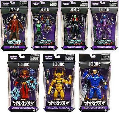 Marvel Legends Guardians Of The Galaxy Series Wave 2 Baf Mantis Set Of 7