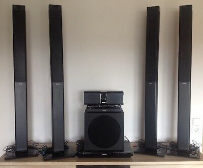Philips 5.1 Surroundsystem 5000 Serie HTB5580G inkl. Blueray Player 1000W