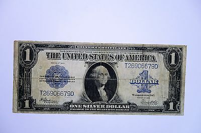 1923 $1 US Silver Certificate