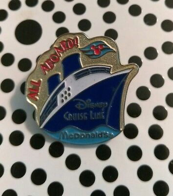 McDonald's Disney cruise line pin