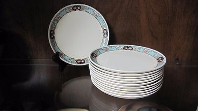 Vintage WS George Cavitt-Shaw Set of 12 Bread & Butter/Dessert Plates cir 1940's