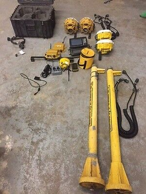 Two Trimble Dual Gps Machine Control And Base/rover/data Collector