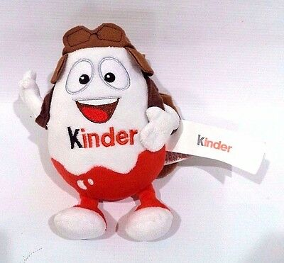 "7"" Kinder Aviator Plush Promotional Stuffed Toy USED"