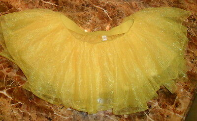 Party City YELLOW Tutu One Size Adult