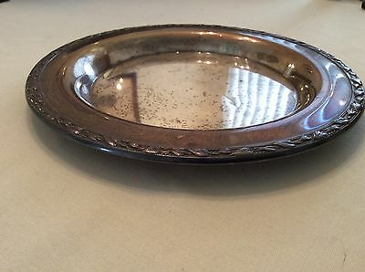 Vintage WM A Rogers silver plate Meadowbrook plate