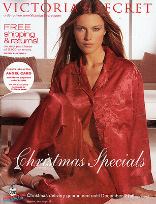 2000 Victoria's Secret Christmas Specials Catalog->Veronica Varekova Cover