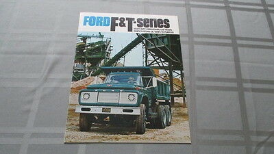 1968 Ford F&t Heavy Duty Conventional Cab Truck Sales Brochure