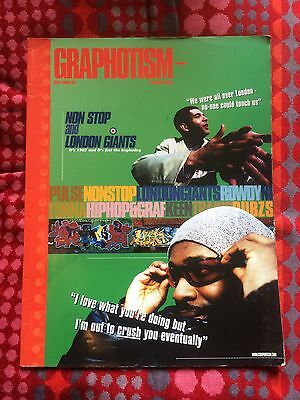 Graphotism issue 11 Summe 1998 - Pulse, Keen, Non Stop London Giants - Rare UK