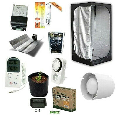 Grow Room Mammoth Lite 100 + HPS 250W Agro - Grow Tent - Kit Coltivazione Indoor