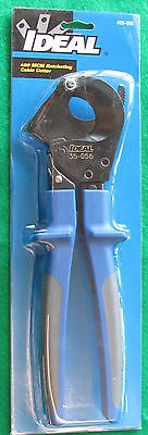 Ideal Industries 400 MCM Ratcheting Cable Cutter-35-056 NEW IN PACKAGING