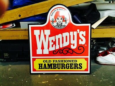 Wendy's Sign - Square