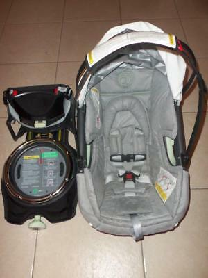 Orbit Baby G2 Infant Rear Facing Car Seat & Base Combo In Black Nice!