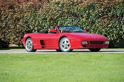 1990 Ferrari 348  1990 Ferrari 348 TS Spider Collectors Low miles Convertible