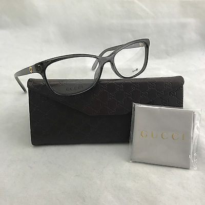 Authentic Gucci Women's GG3699 G2D Gray Reading Optical Eyeglasses w Case