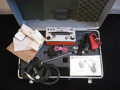 Metrotech 850 Cable Transmitter Set only NO LOCATOR WAND 30 DAY WARRANTY