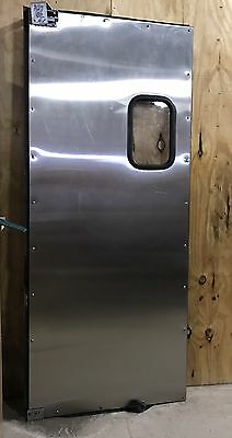 "82"" x 34.5"" Stainless Steel Swinging Restaurant Door - PICK-UP ONLY!!!"