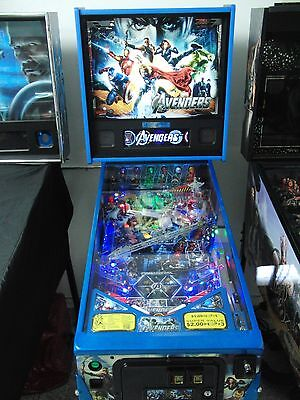 The Avengers LE Blue Pinball, Stern,HUO,Tuned In,$900+ of Mods,Pickup Only 92620