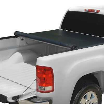 6.4ft Bed Lock & Roll Up Soft Tonneau Cover for a 2002-2017 [Dodge, Ram]