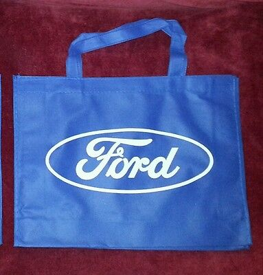 NEW 3 FORD Logo Reusable Racing Lightweight Shopping Grocery Tote Bags NWOT