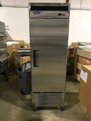 Atosa MGF8501 Commercial Single Door freezer reach in freezer scratch and dent
