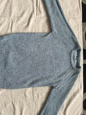 Boys Knitted Blue Jumper