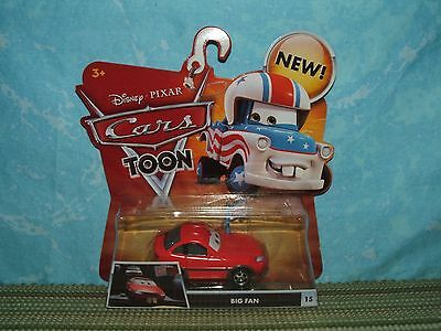 Disney Pixar Cars Toon: BIG FAN (NIP) MATER the GREATER