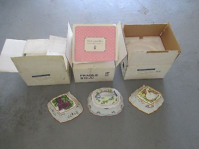 1986 The Franklin Mint ~ Le Cordon Bleu ~ Wall Hanging Molds LOT OF 3 New in Box