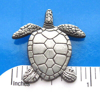 Sea TURTLE -   hat pin , lapel pin , tie tac , hatpin  GIFT BOXED