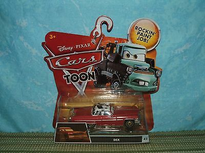 Disney Pixar Cars Toon: DEX (NIB) Heavy Metal Mater