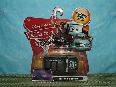 Disney Pixar Cars Toon: RODNEY the ROCKER (NIB) Heavy Metal Mater