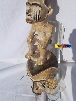 Tribal Exotics fine African Art - Igbo Ibo Afikpo Mask Figure Sculpture Statue