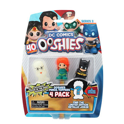 Dc Ooshies 4 Pack Series 2 - Assorted - NEW