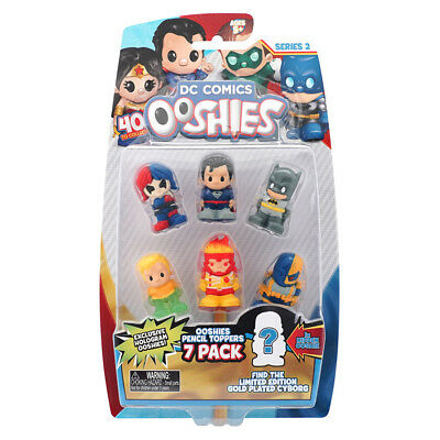 DC Ooshies 7 Pack Series 2 - Assorted - NEW